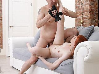 Spontaneous porn debut